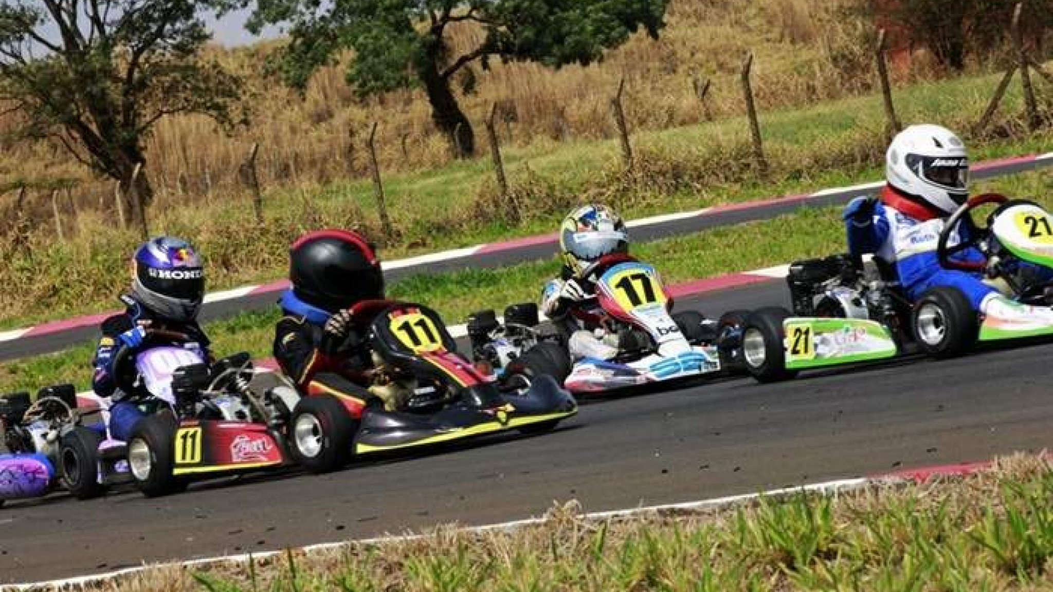 Esquenta a disputa do Super Kart e Moto do Interior